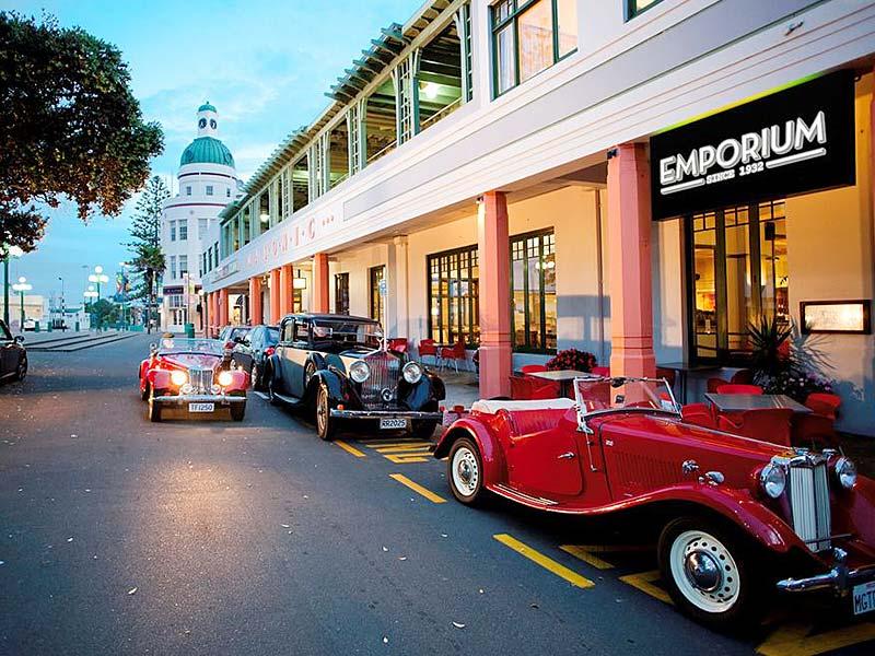 Új-Zéland: Napier Art Deco